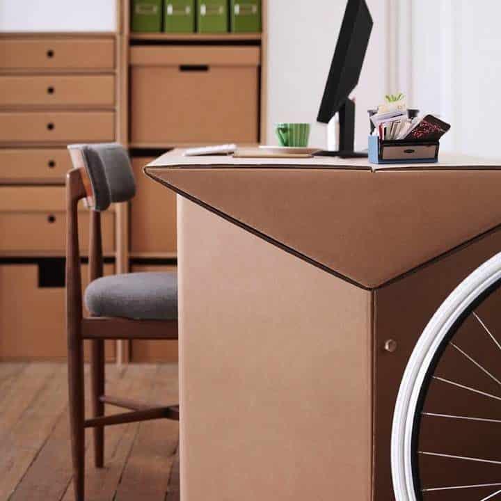 Decoración Eco Chic: Muebles hechos de cartón 19