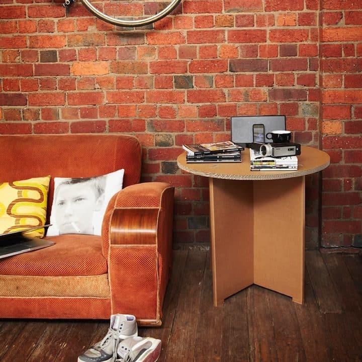 Decoración Eco Chic: Muebles hechos de cartón 20