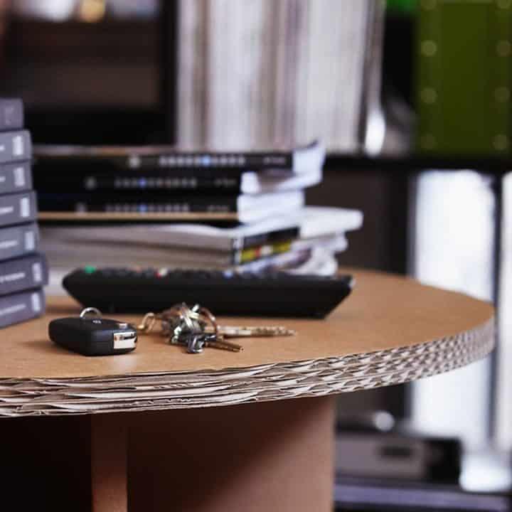 Decoración Eco Chic: Muebles hechos de cartón 21