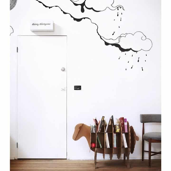 Decoración Eco Chic: Muebles hechos de cartón 22