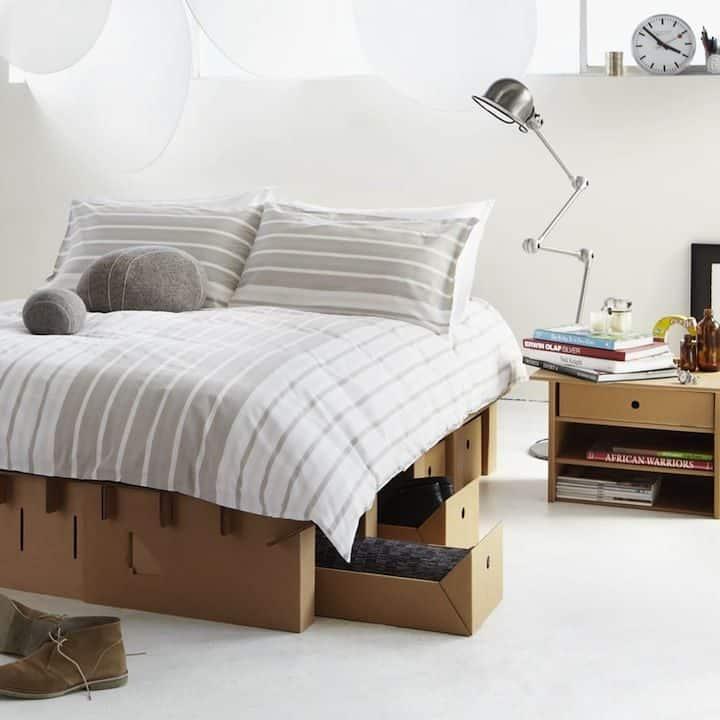 Decoración Eco Chic: Muebles hechos de cartón 24