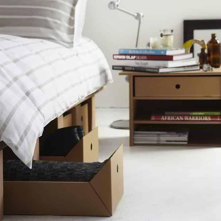 Decoración Eco Chic: Muebles hechos de cartón 25