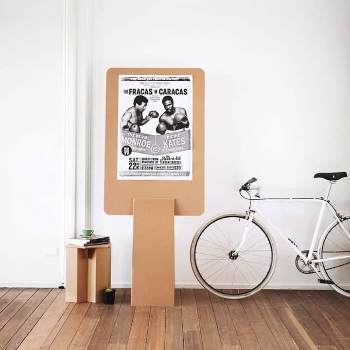 Decoración Eco Chic: Muebles hechos de cartón 26