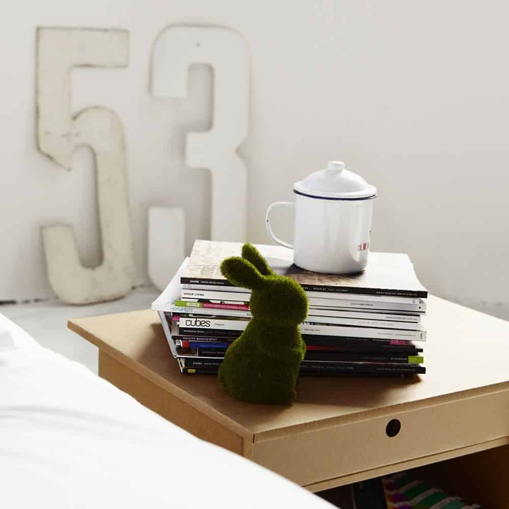 Decoración Eco Chic: Muebles hechos de cartón 29
