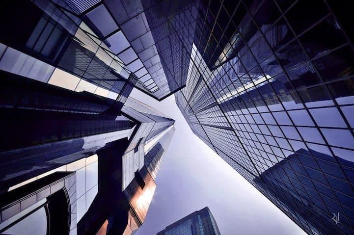 Espectaculares imágenes de edificios en perspectiva vertical 39