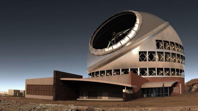 Construyen el mayor telescopio del mundo en un volcán hawaiano 16