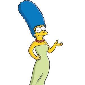 """Dolor en """"Los Simpsons"""": murió la verdadera Marge 27"""