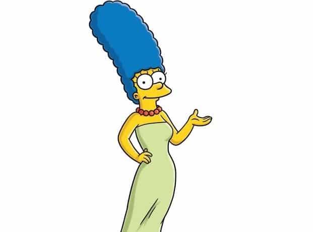 "005cbf843a1a4b7c141f5bc5900d47e4 - Dolor en ""Los Simpsons"": murió la verdadera Marge"