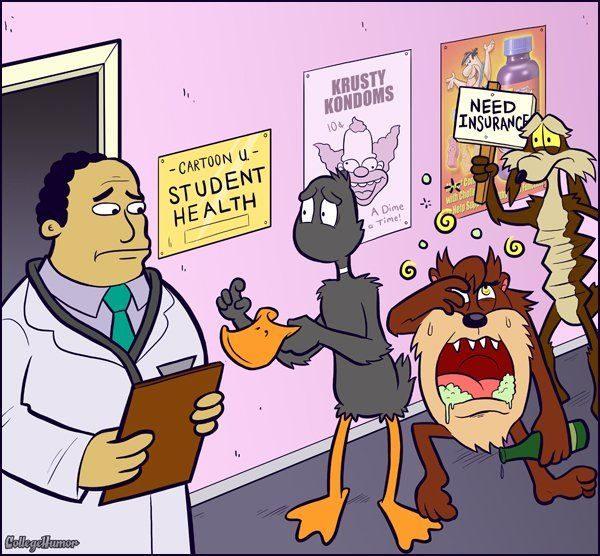 Dibujos animados en la Universidad 50