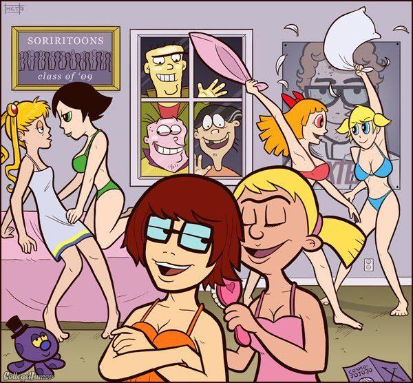 Dibujos animados en la Universidad 49