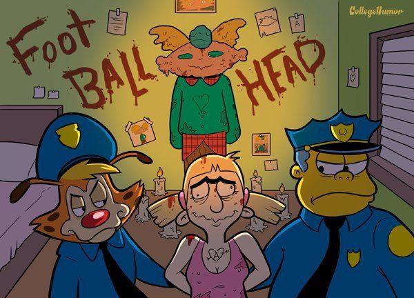 Dibujos animados en la Universidad 56