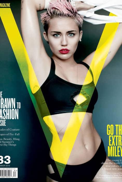 Miley Cyrus se destapa 15