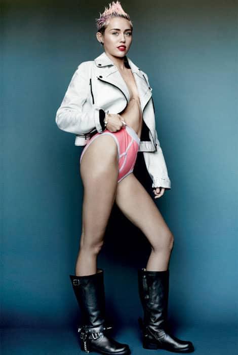 Miley Cyrus se destapa 17
