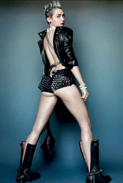 Miley Cyrus se destapa 20