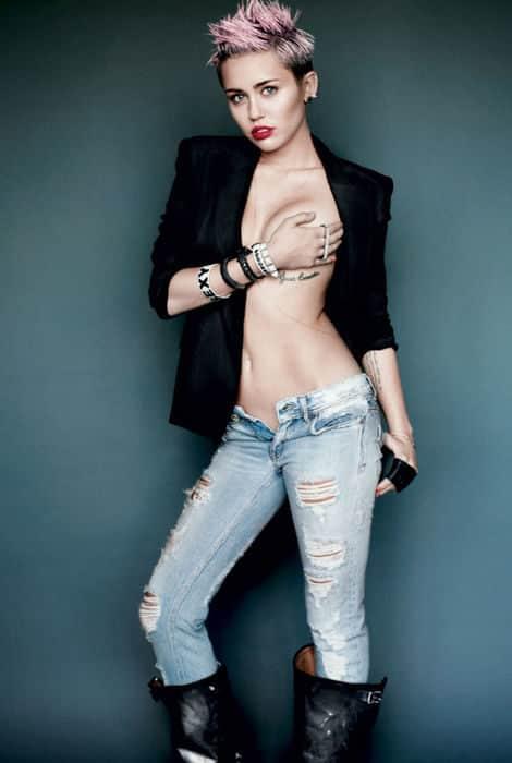 Miley Cyrus se destapa 22