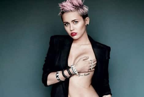 Miley Cyrus se destapa 10