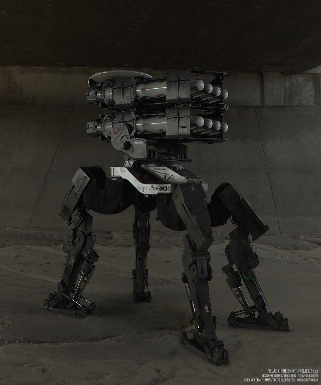 Las máquinas que nos asesinarán en el futuro, según Vitaly Bulgarov 18