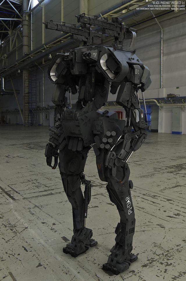 Las máquinas que nos asesinarán en el futuro, según Vitaly Bulgarov 19
