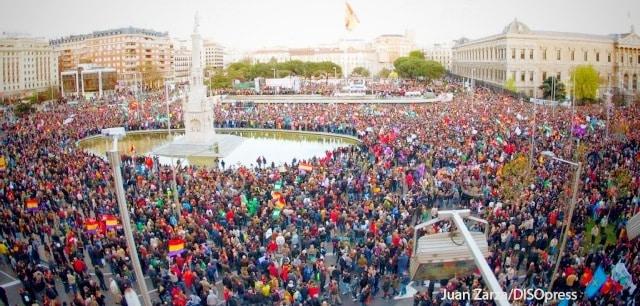 """22M Mas de 2 millones de personas participan en las """"Marchas de la Dignidad"""" en Madrid 12"""