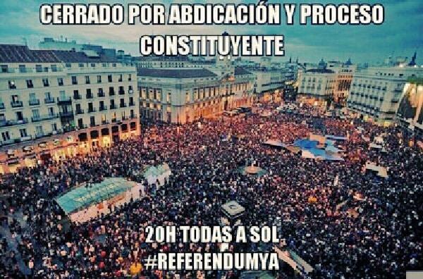 5da3c62db1c3e971ea01c54afbc83bd3 - Concentraciones por un #ReferéndumYA. A las 20:00 en las calles y plazas de España