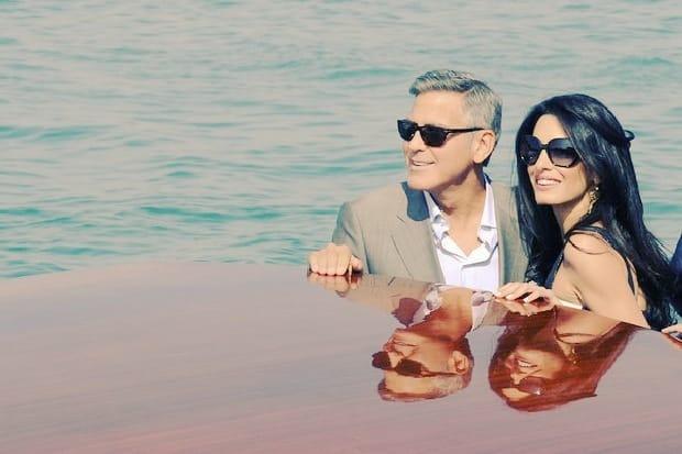 Hollywood se junta en Venecia para la boda de George Clooney 13
