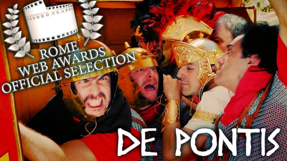 #Video La serie De Pontis es seleccionada en el festival Rome Web Awards y supera los 100.000 visionados 12