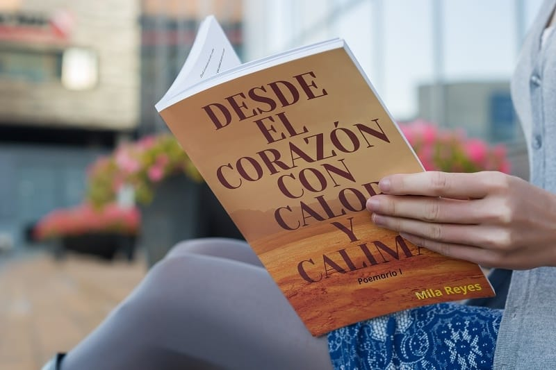 """""""Desde el corazón con calor y calima"""" el libro de Mila Reyes 2"""