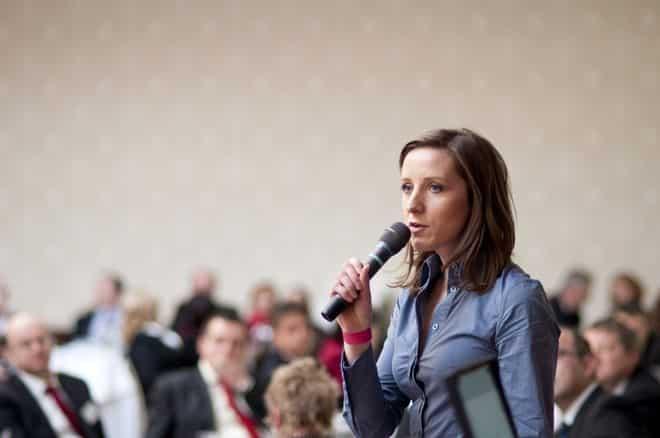 ¿Miedo a hablar en público? Devuélvete la confianza 12