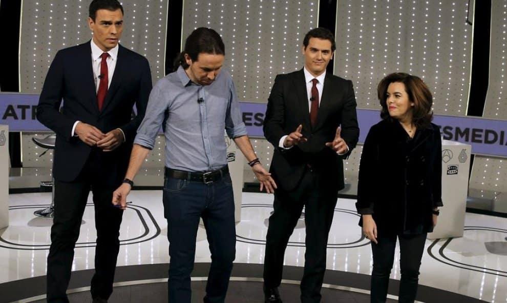 """Pablo Iglesias: """"Pedro Sánchez ha quedado fuera de la carrera electoral"""" 13"""