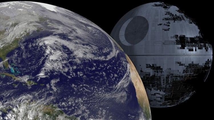 La NASA muestra cómo construiría una 'Estrella de la Muerte' 2
