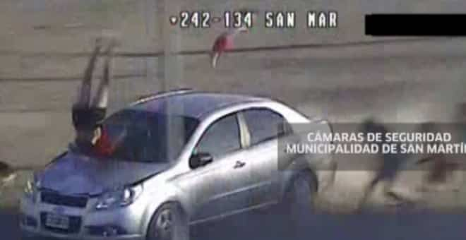 #Video Brutal atropello de una madre y su bebé en Argentina 13