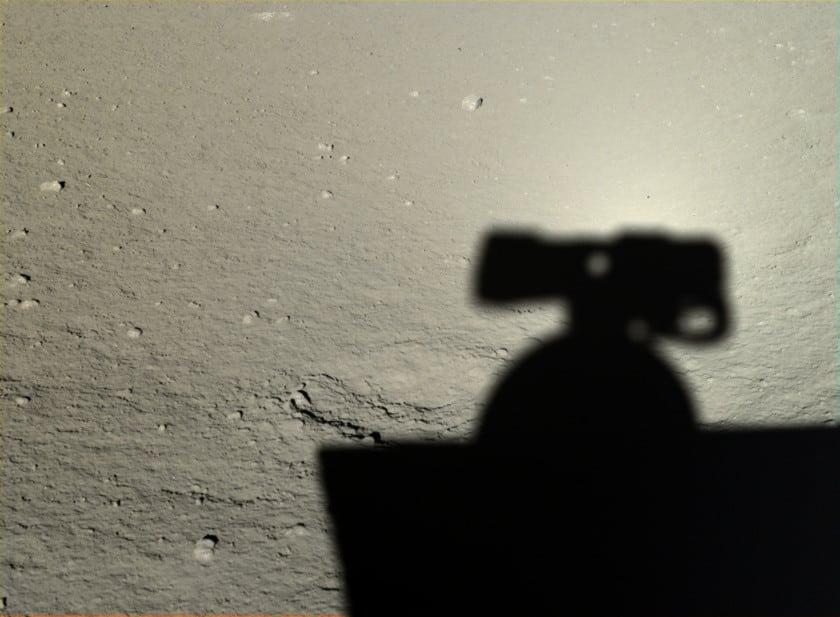 China difunde las primeras imágenes HD de su misión en la Luna 16