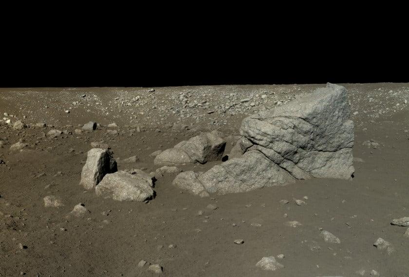 China difunde las primeras imágenes HD de su misión en la Luna 17