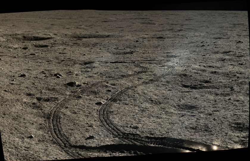 China difunde las primeras imágenes HD de su misión en la Luna 18