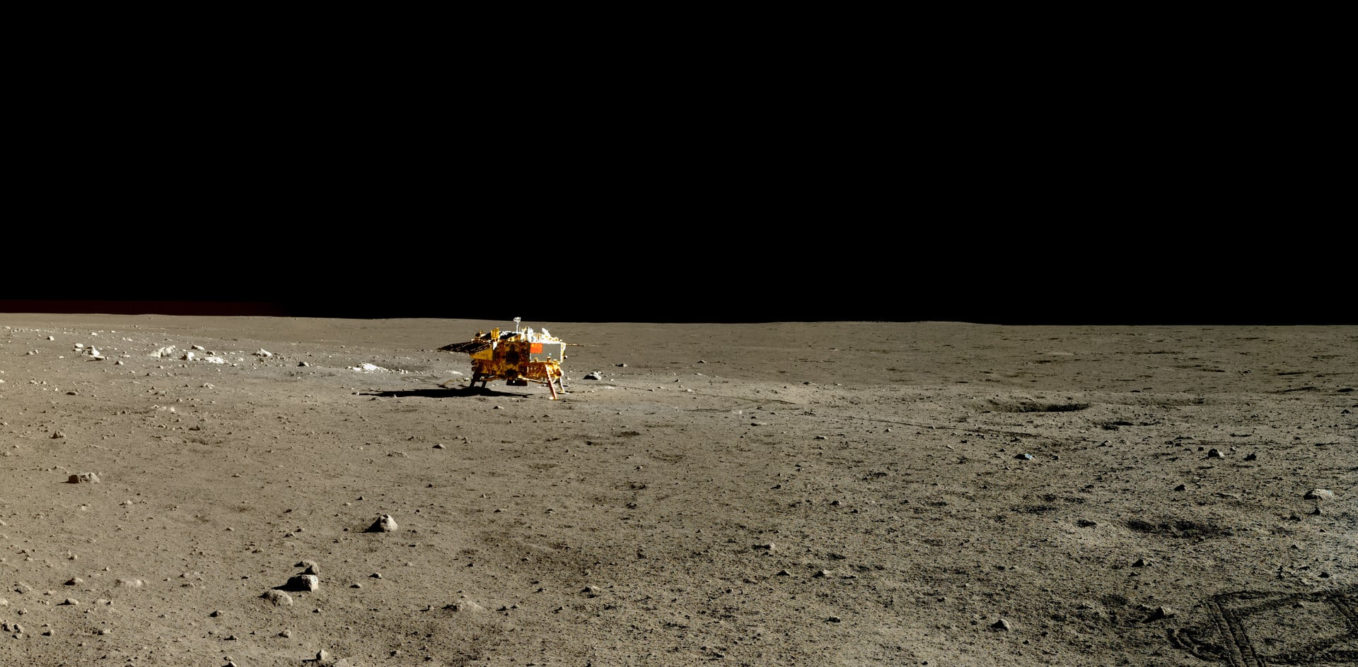 China difunde las primeras imágenes HD de su misión en la Luna 19