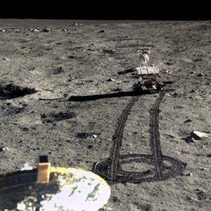 China difunde las primeras imágenes HD de su misión en la Luna 27