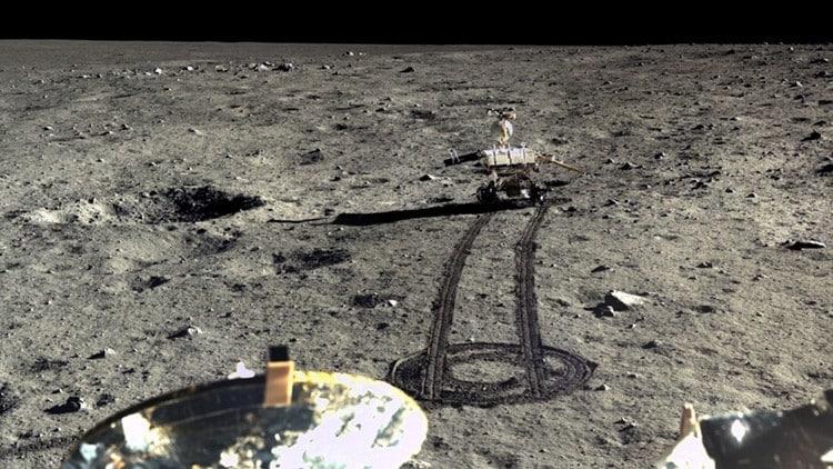 China difunde las primeras imágenes HD de su misión en la Luna 2