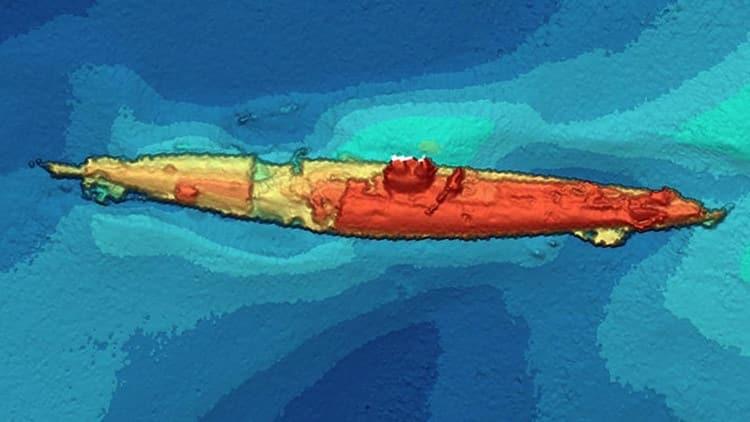 Recuperan el submarino alemán atacado por un 'monstruo marino' en la Primera Guerra Mundial 10