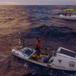 Chris Bertish el hombre que cruzó el océano Atlántico solo con un remo y una tabla 9