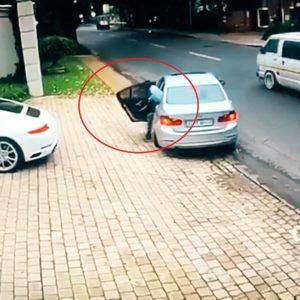 #Video Le intentan robar el coche y esto es lo que hace 4