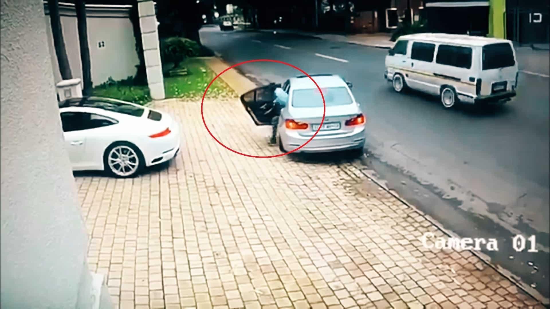 #Video Le intentan robar el coche y esto es lo que hace 11