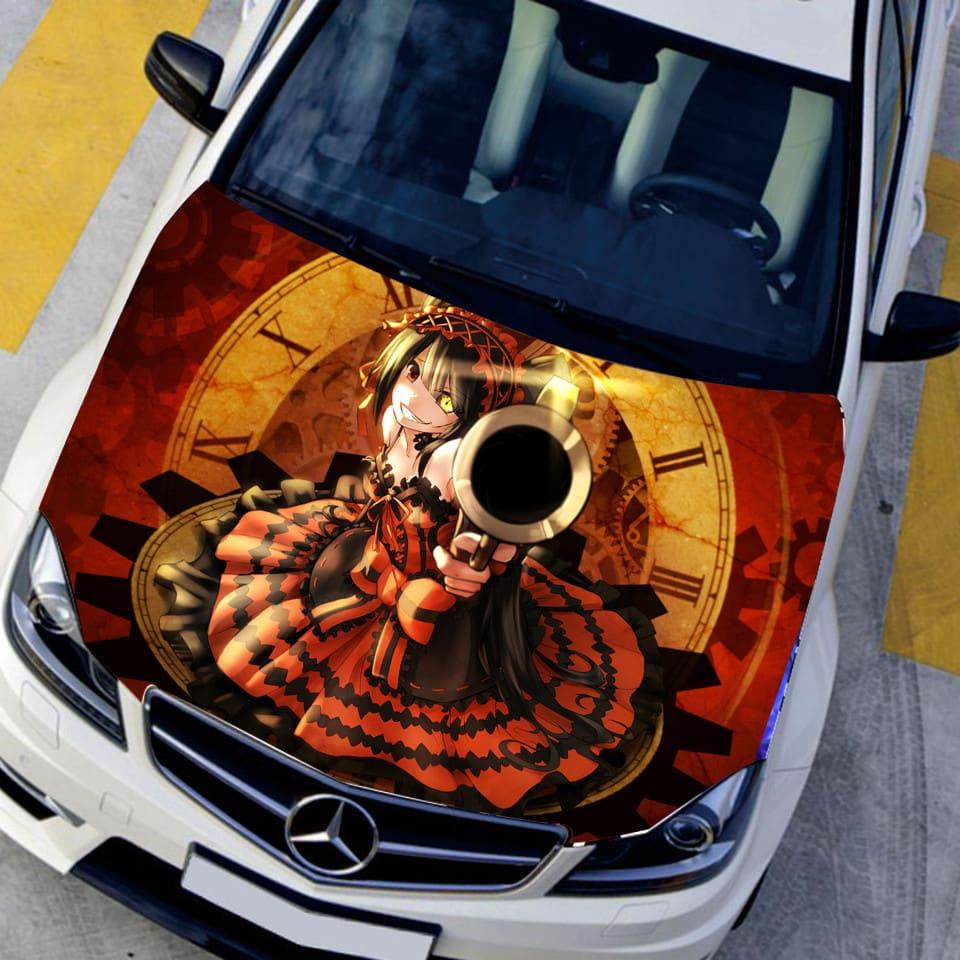 "Pegatinas para carro y coche""Tokisaki Kurumi"""