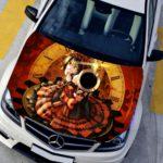 Pegatinas curiosas para poner en tu coche 8