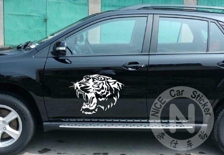 """Pegatinas para carro y coche""""tigre"""""""