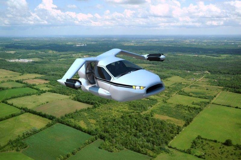 TF-X: Coche volador de despegue vertical 26