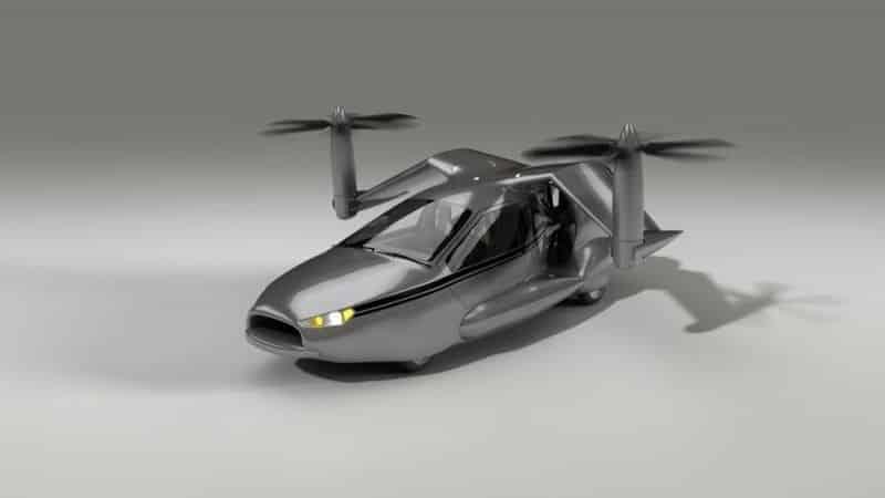 TF-X: Coche volador de despegue vertical 27