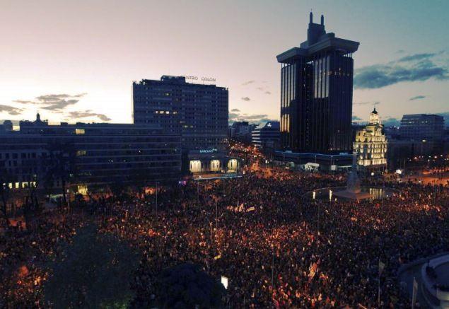 """22M Mas de 2 millones de personas participan en las """"Marchas de la Dignidad"""" en Madrid 17"""