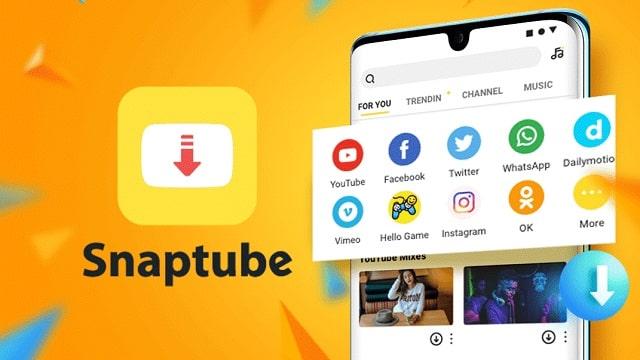 Como puedo descargar videos online con Snaptube
