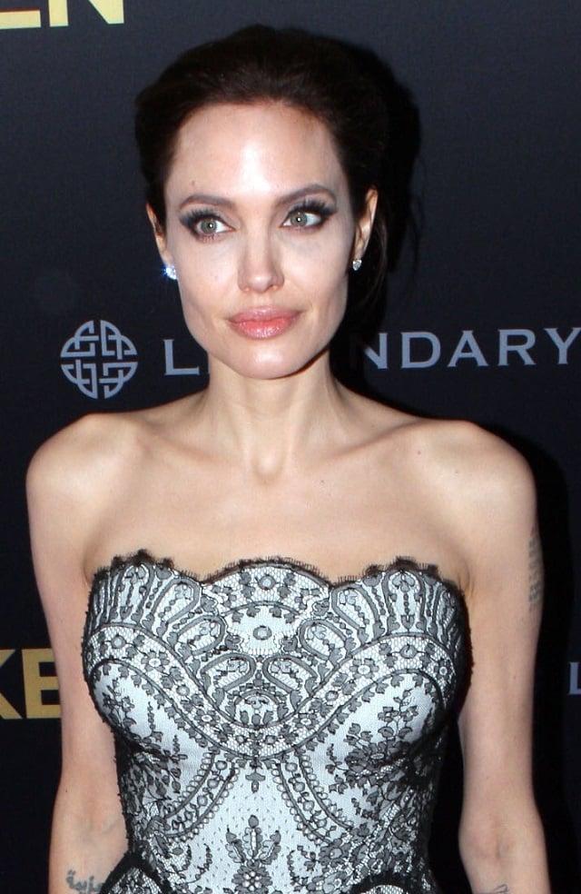 Angelina Jolie tras su mastectomía