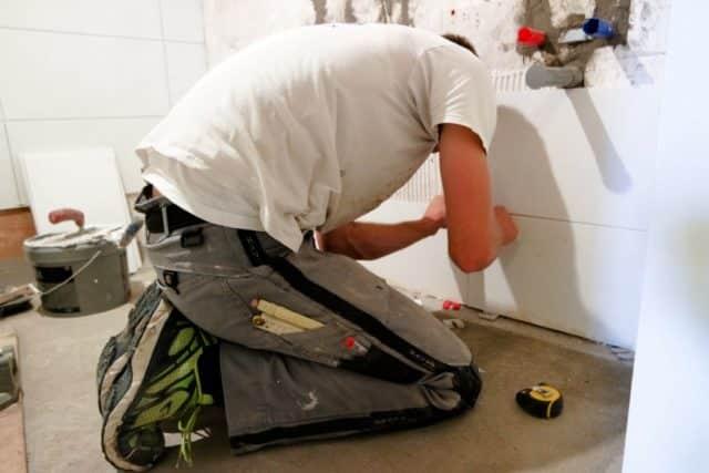 Cambio integral de baños con lavabos con encimera